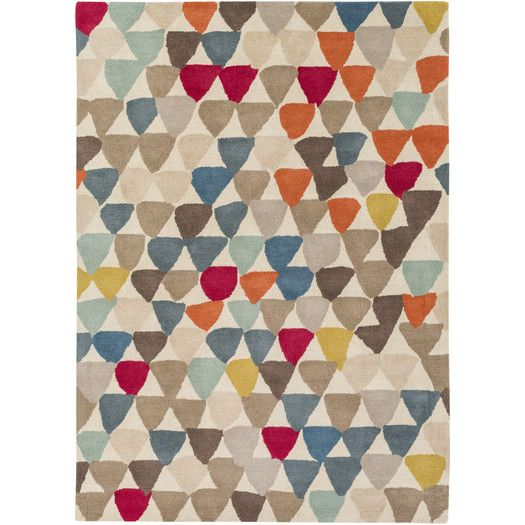 Found it at AllModern - Harlequin Hand-Tufted Area Rug