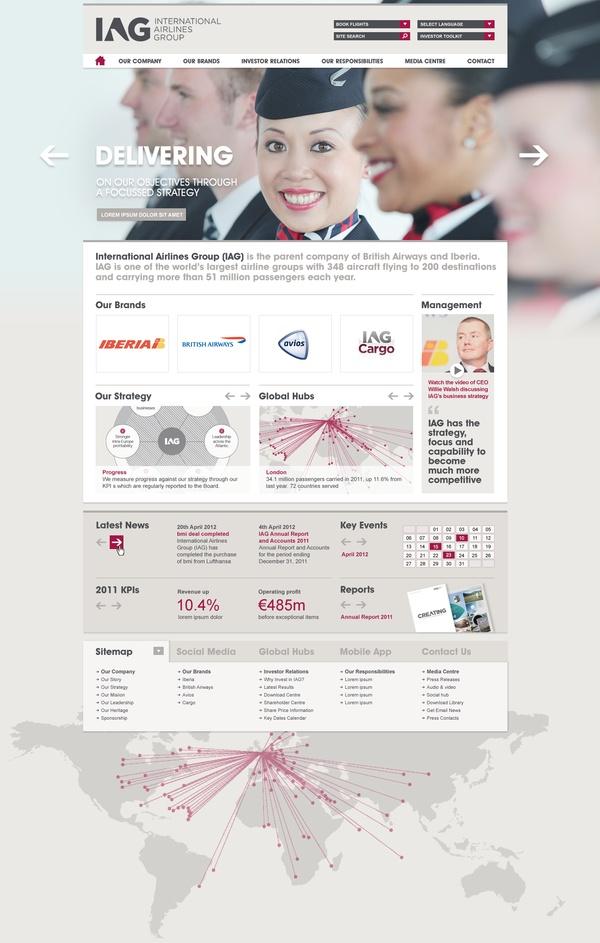 IAG Corporate Website 2012