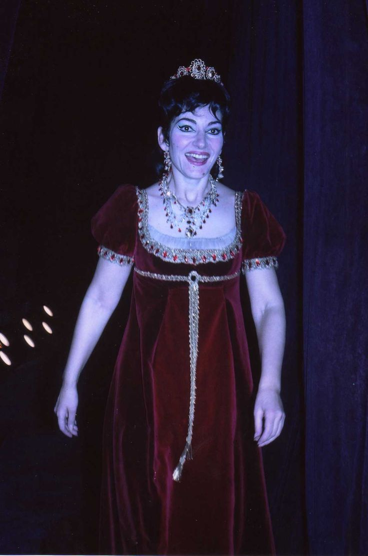 Maria Callas (Tosca).