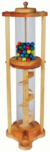 Tower Gumball Machine Woodworking Plan