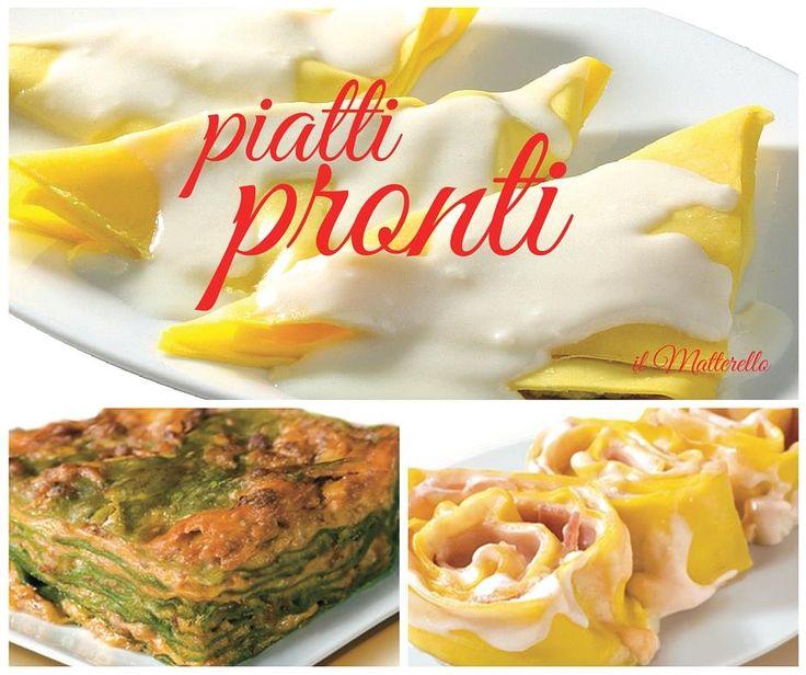 I nostri Piatti Pronti! Buoni per davvero!  #ilmatterello #piattipronti #verica #madeinitaly #food #goodfood
