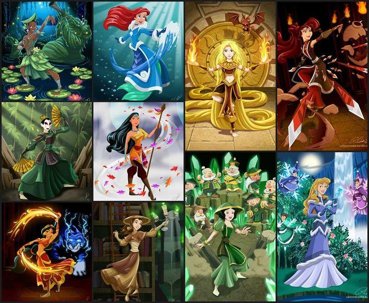 Avatar Disney style - Rapunzel looks awesome!