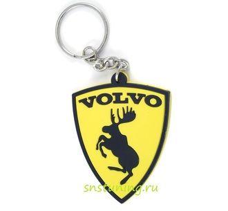 Брелок Volvo с лосем, клубный для авто ключей