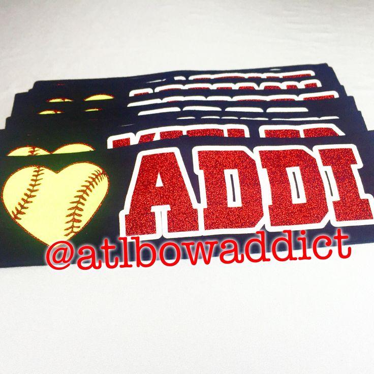 Softball Headband with Name