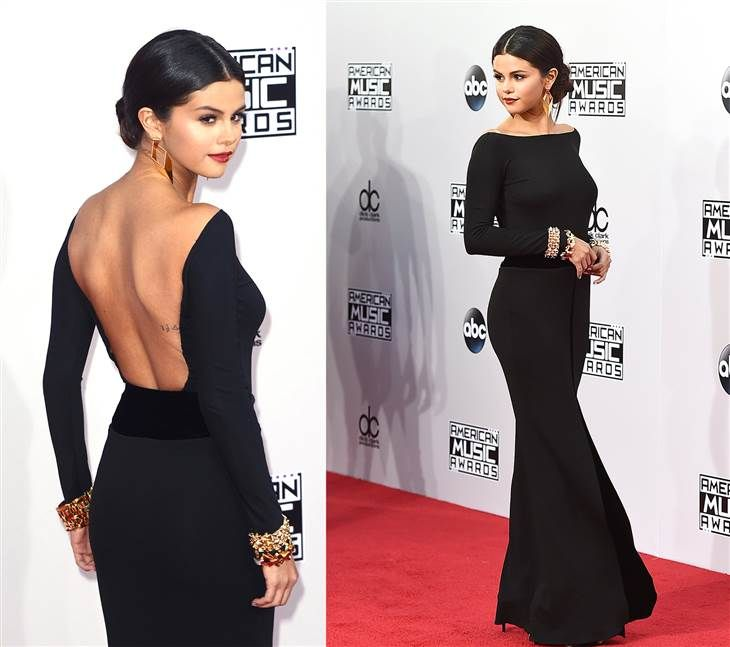 Selena Gomez at the AMAs 2014 Más