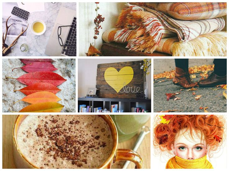 October moods and colors