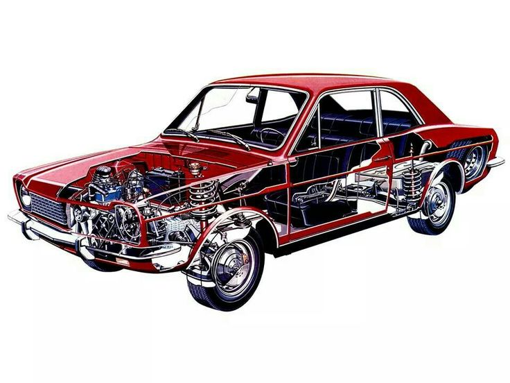 Ford Corcel #Cutaway