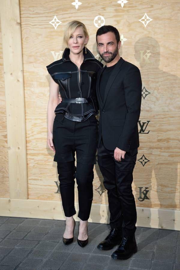 Cate Blanchett et Nicolas Ghesquière