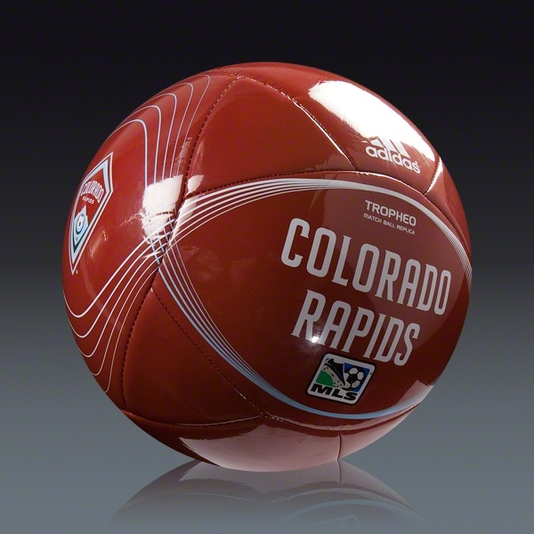 adidas 2012 Colorado Rapids Tropheo Ball || SOCCER.COM