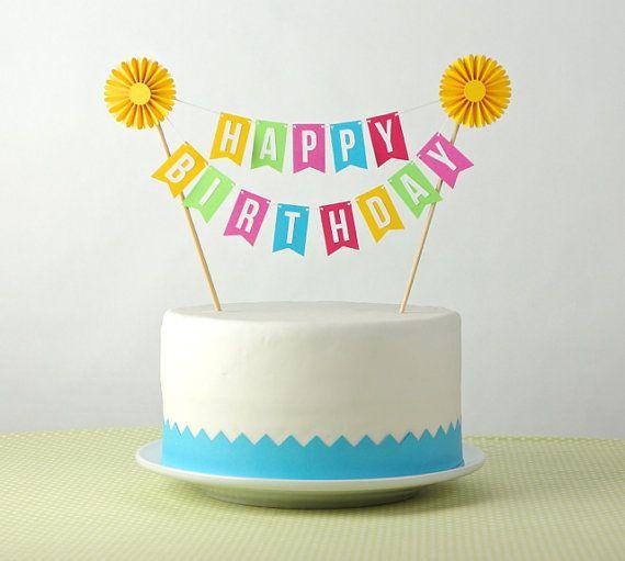 Birthdays cake decorations