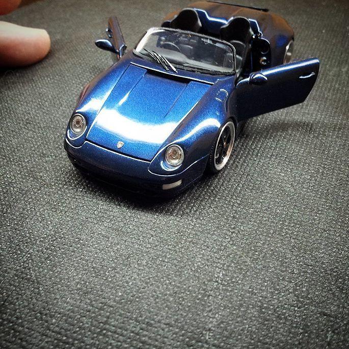 Finish  993 speedster 9m(ninemeister) 1/43 scrathbuild #993#speedster#9m#ninemeister#speedster9m#porsche#911#aircooled#aircooledporsche#porsche#porsche911#porsche993#porschespeedster#handmade#1/43# by nur964