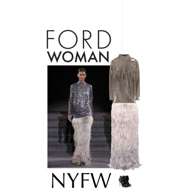 A fashion look from September 2016 by andreearaiciu featuring Tom Ford and NYFW