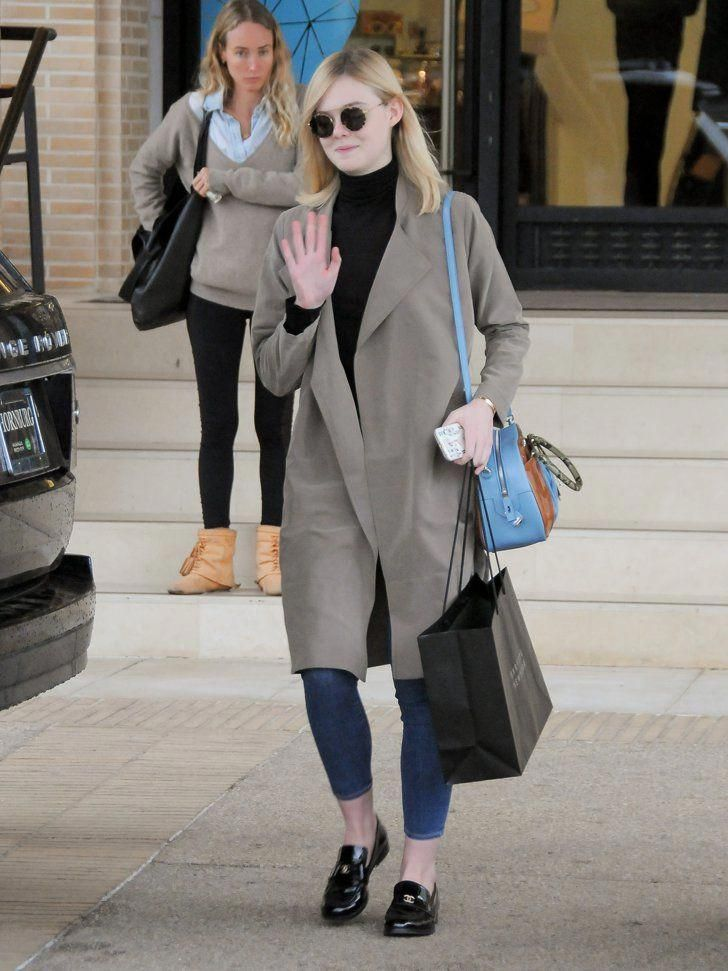 929252f3171e Pin for Later  Elle Fanning Is Carrying the It Bag You ll Instantly Want to