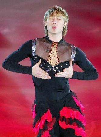"""Evgeni Plushenko """"The King of the Ice"""" - Russia."""