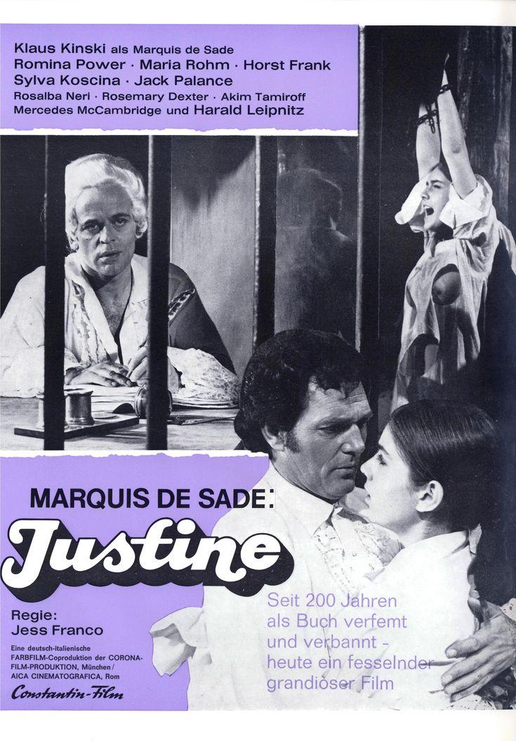 "Deadly Sanctuary (1969) ""Marquis de Sade: Justine"" (original title) Stars: Klaus Kinski, Romina Power, Maria Rohm, Rosemary Dexter, Carmen de Lirio, Akim Tamiroff ~  Director: Jesús Franco"