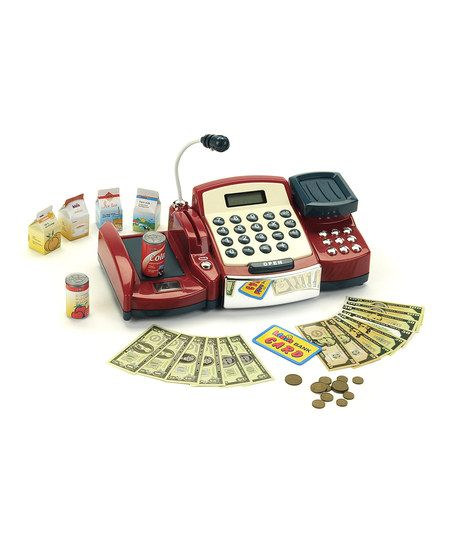 Toy Cash Register With Scanner : Best images about kids cash register with scanner on