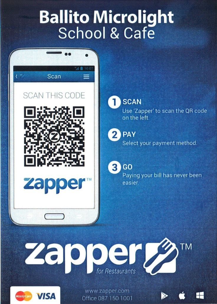 Leafy Greens Cafe also accepts Zapper as a payment method.