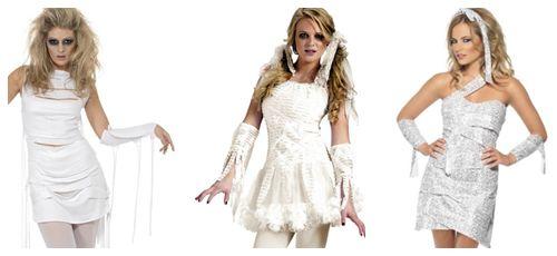 #Disfraces de #momia #sexy para #Halloween collage
