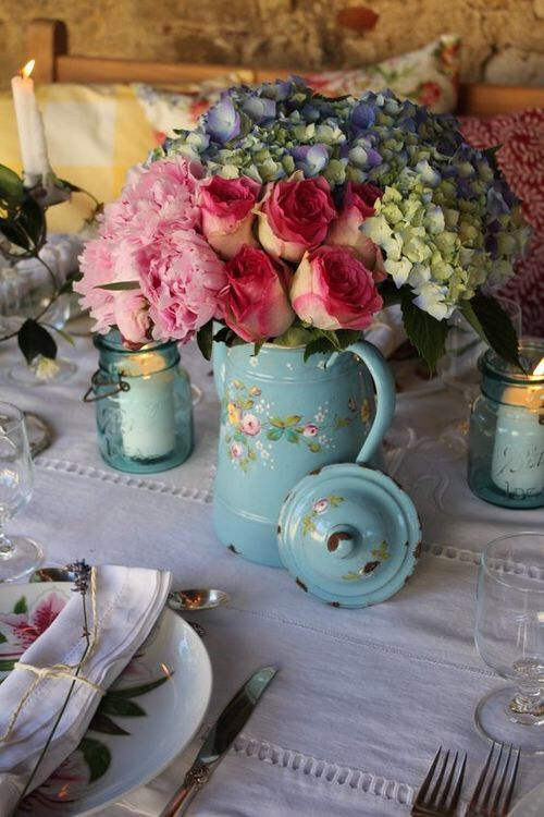 91 Best French Country Floral Arrangements Images On