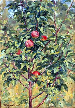 Young apple tree - Pyotr Konchalovsky