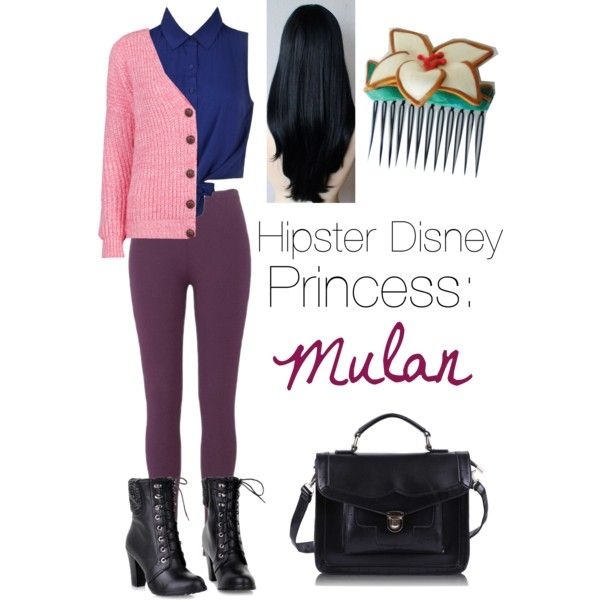 Hipster Disney princess: mulan