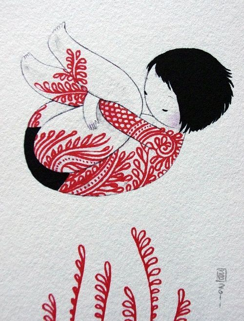 just love the red. & Stasia Burrington!