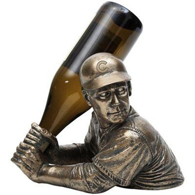 Chicago Cubs Bam Vino Bottle Holder!----if only it was a twins one or just generic baseball