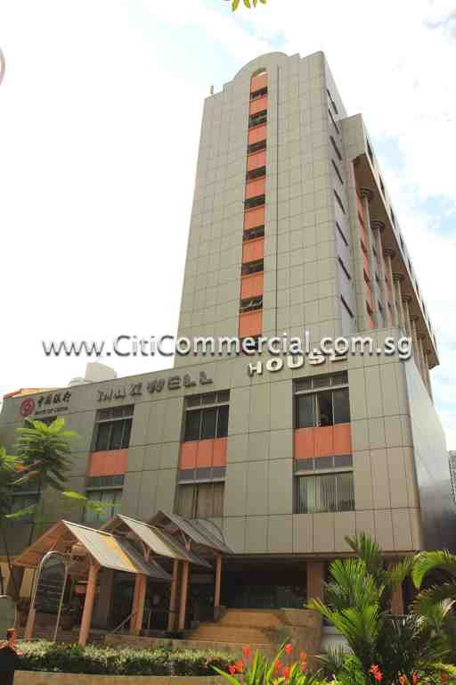Maxwell House is a 12-storey office development.
