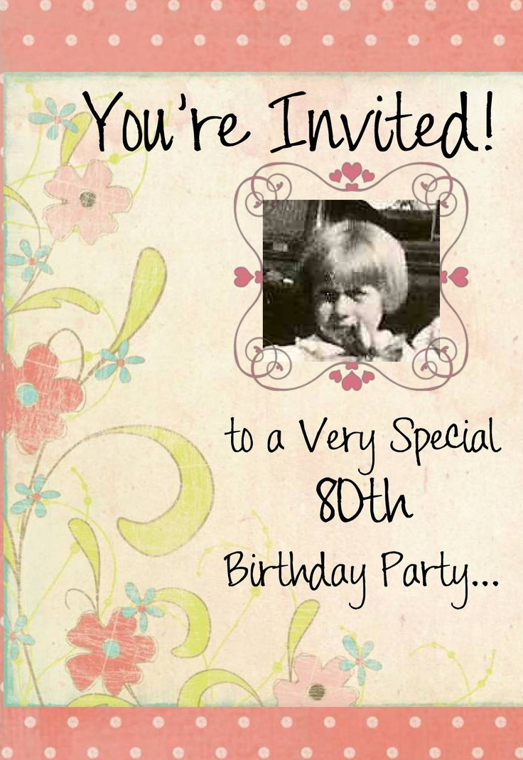 51 best 80th Birthday Party Ideas