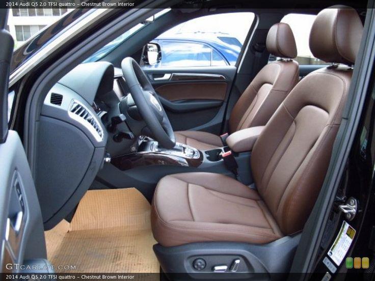 Chestnut Brown Interior Photo for the 2014 Audi Q5 2.0 TFSI quattro #85424103