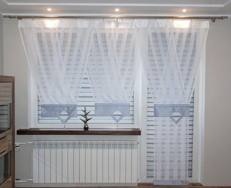 320 besten firany bilder auf pinterest. Black Bedroom Furniture Sets. Home Design Ideas