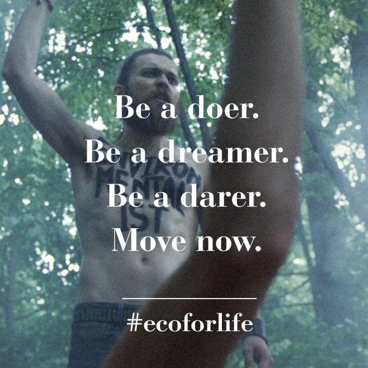 Be. #ecoforlife