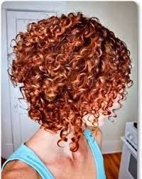 Image result for short curly hairstyles stacked in the back