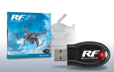RealFlight RF7.5 R/C Flight Simulator - Wireless SLT™ Transmitter Interface Edition