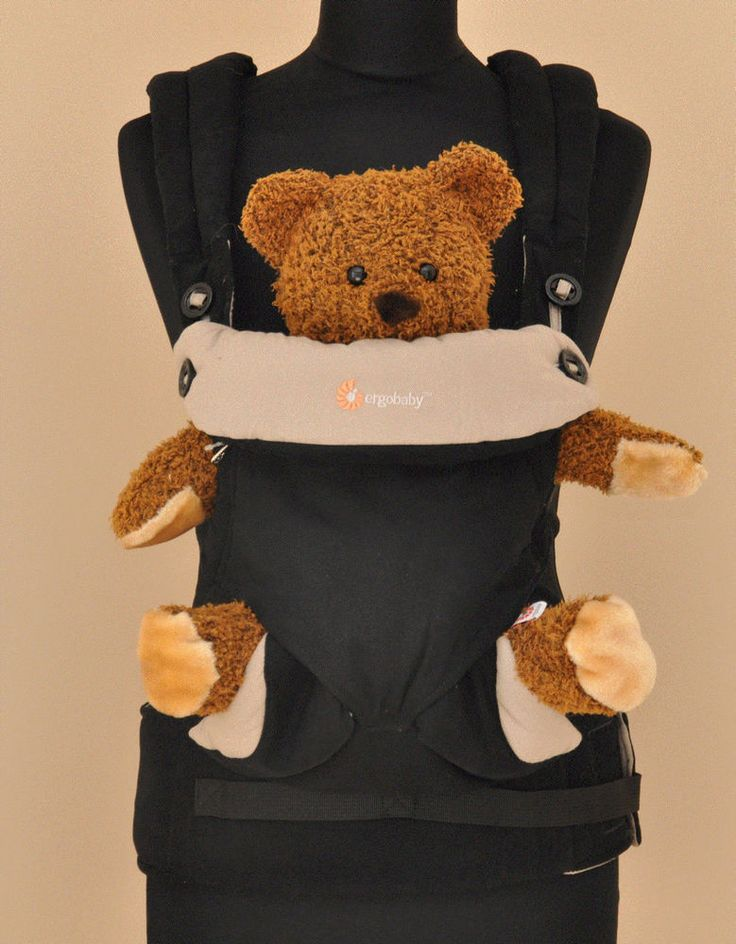 WORLDWIDE FREE SHIPPING ERGOBABY Brand New Four Position 360 Baby Carrier Black