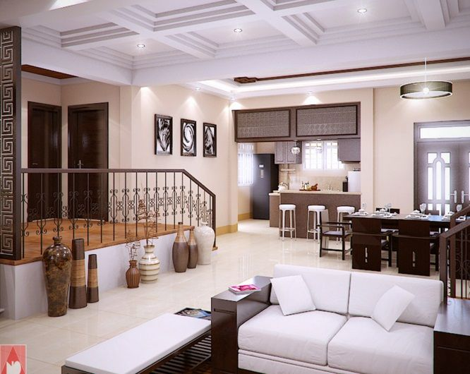 Modern Bungalow House Of Traditional Touch With Splendid Interior Concepts Pinoy Modern Bungalow House Small House Design Plans Modern Bungalow House Design