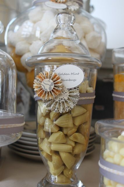 """Photo 1 of 43: Yellow, grey and white brunch / Baby Shower/Sip & See """"Hello Baby"""" 