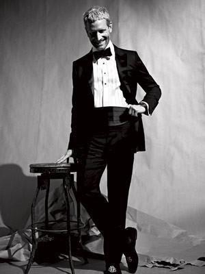 Черные брюки с лампасами к смокингу