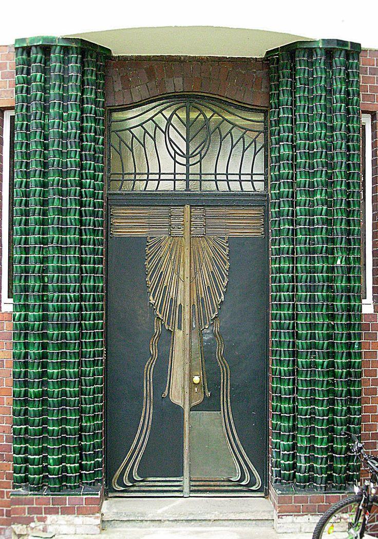 art nouveau door   ..rh