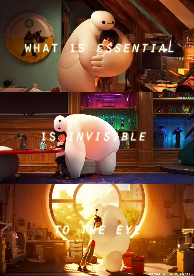 What is essential is invisible to the eye <3