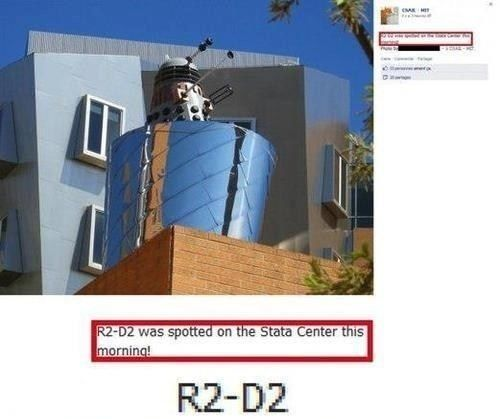 One does not simply mistake a Dalek for R2D2. Or insult the Harry Potter series. But overall this is quite terrible