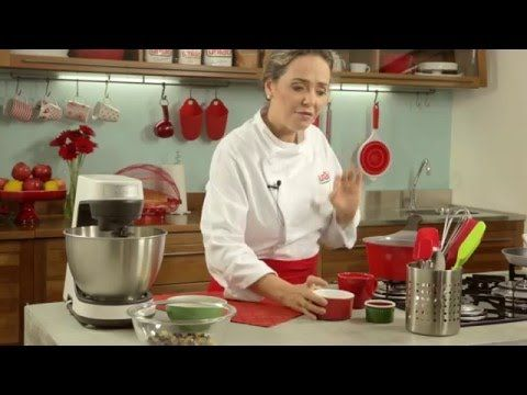 RECEITA - Nougat Glace com a Chef Carole Crema - YouTube