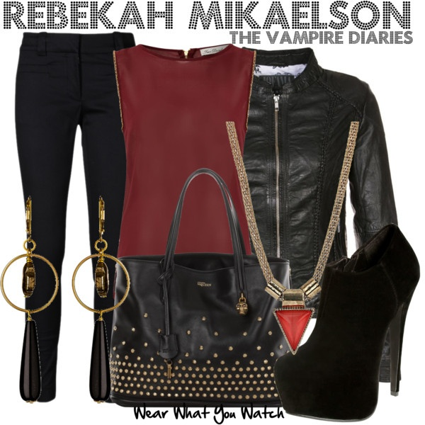 Inspired by Claire Holt as Rebekah Mikaelson on The Vampire Diaries.