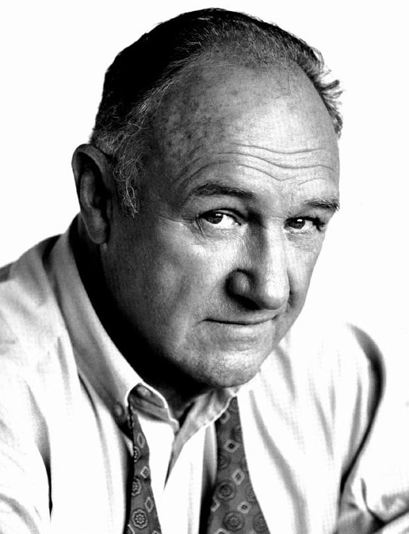 Gene Hackman (a lasting impression: I Never Sang for My Father, The French Connection, The Poseidon Adventure, Scarecrow, The Conversation, Young Frankenstein, Night Moves, Superman, Hoosiers, Mississippi Burning, Narrow Margin, Unforgiven, Crimson Tide, Get Shorty, The Birdcage, Enemy of the State, The Royal Tenenbaums, Runaway Jury...)