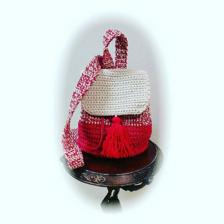 Рюкзачок от @knitbyolgabronina для милых модниц  ❤
