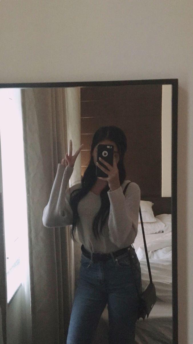 Fotos tumblr sola en el espejo