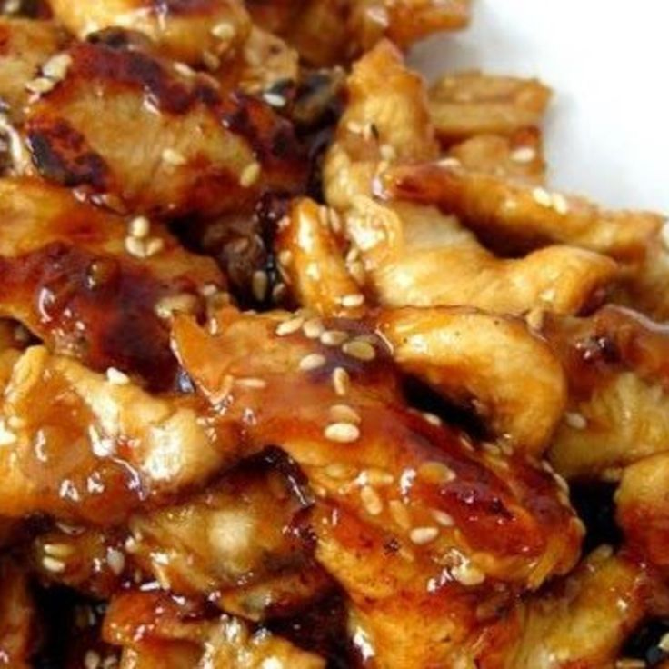 Crock-Pot Chicken Teriyaki you should had cornstarch and start with 1/4 cup of brown sugar add to your taste