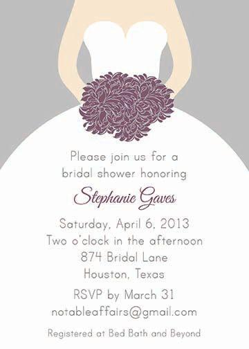purple and silver shower invitations - Google Search