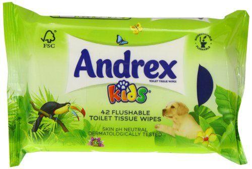 Andrex Moist Toilet Tissue Kids Refill 42 Sheets (Pack of 12): Cet article Andrex Moist Toilet Tissue Kids Refill 42 Sheets (Pack of 12)…