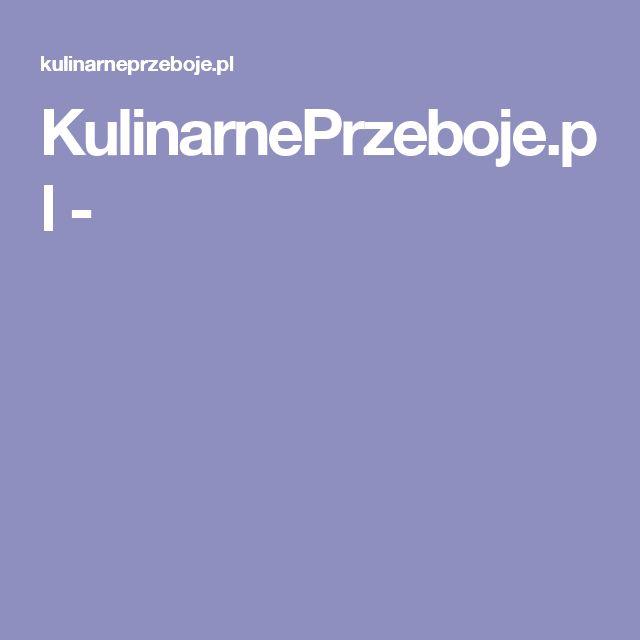 KulinarnePrzeboje.pl -